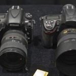 Nikon D800E (left) and Nikon D700 (right)